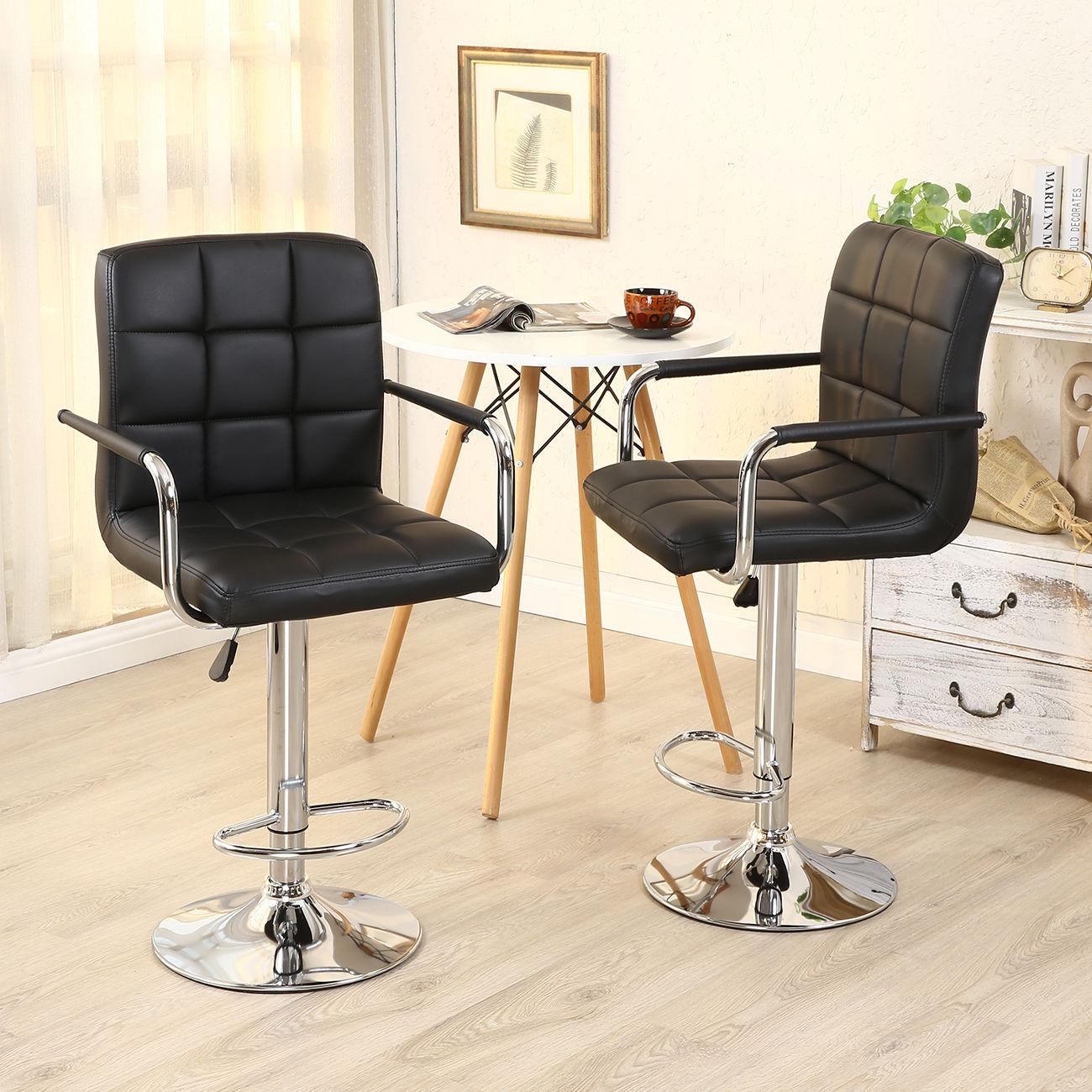 2 PACK Swivel Bar Stool PU Leather Modern Adjustable  : 132F130266282Fs l1600 170424160330 from www.ebay.com size 1300 x 1300 jpeg 278kB
