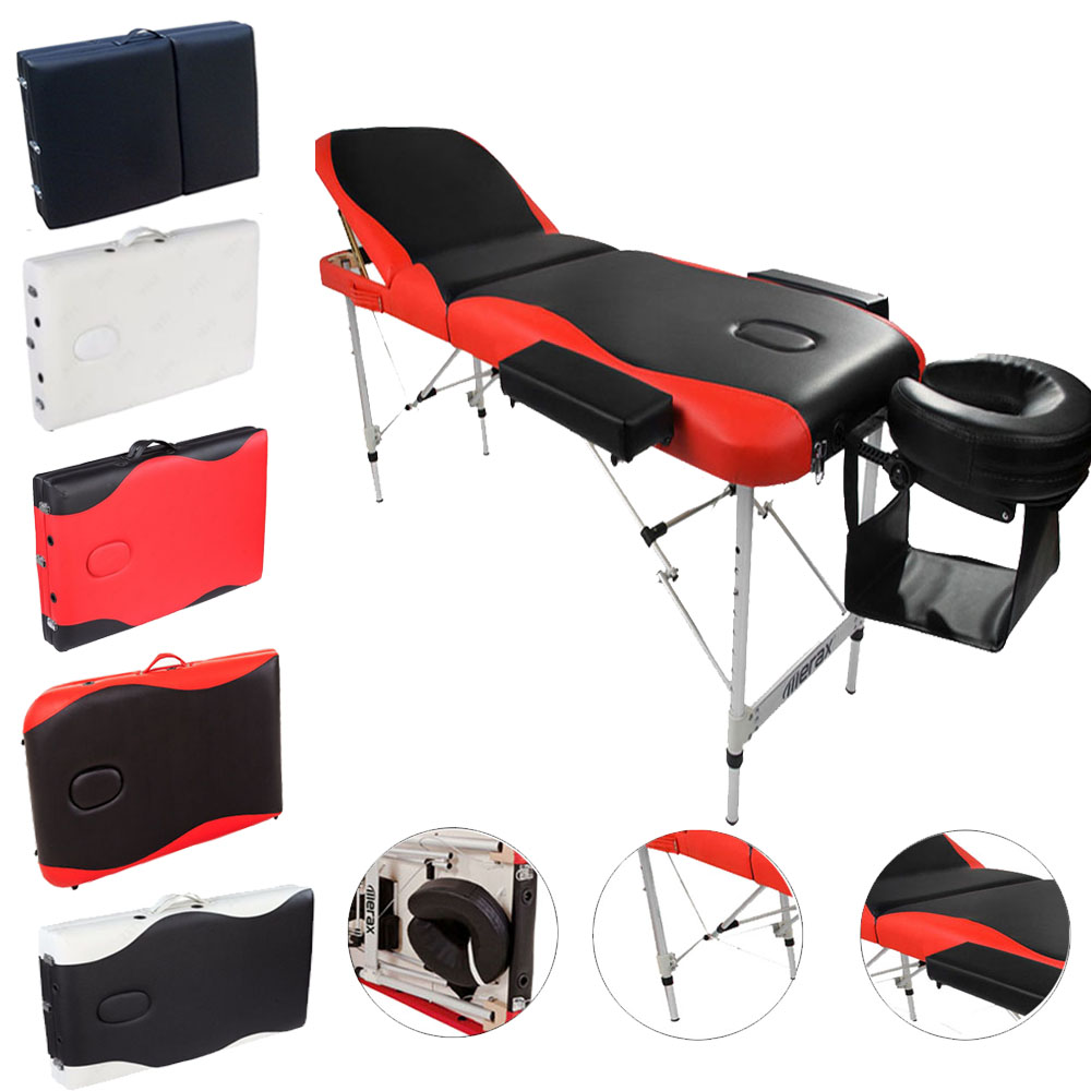 The Massage Table Is The Aluminum And Synthetic Leather . The Massage Table  Will Keep Sanitary And More Convenient. I Believe You Will Love It
