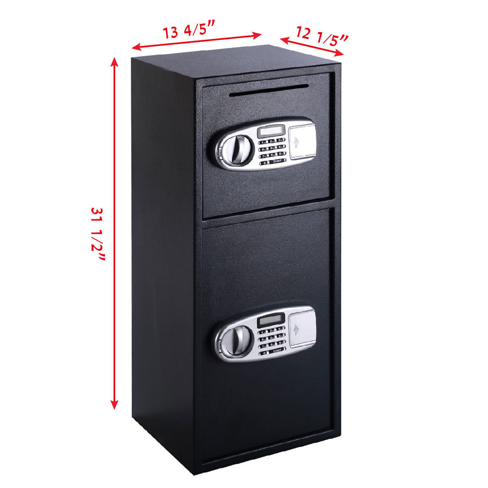 Large Double Door Combination Lock Safe Box Security