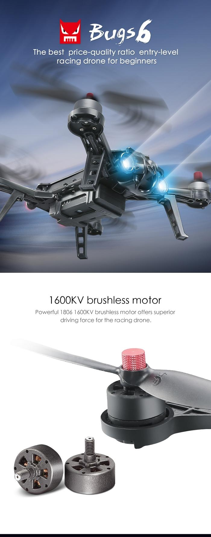 Introductions Do You Want To Buy A High Quality Remote Control Toy Why Not Try This MJX B6 Bugs 6 Two Way 24GHz 4CH 3D Roll RC Brushless Racing