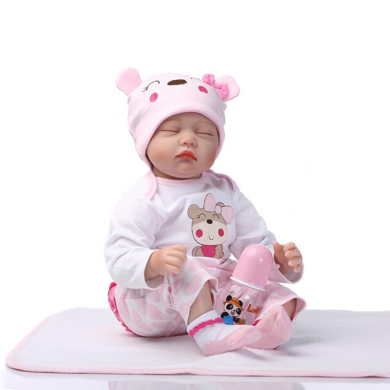 22 Npk Solid Silicone Lifelike Baby Doll Preemie Handmade Dolls