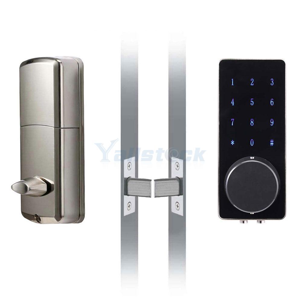 keyless entry deadbolt smart electronic bluetooth keypad entry door lock ebay. Black Bedroom Furniture Sets. Home Design Ideas