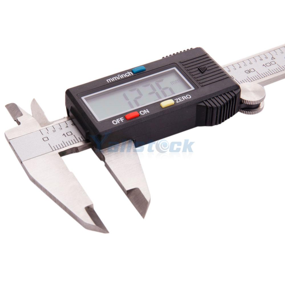 150mm 6inch Digital Electronic Stainless Steel Caliper ...