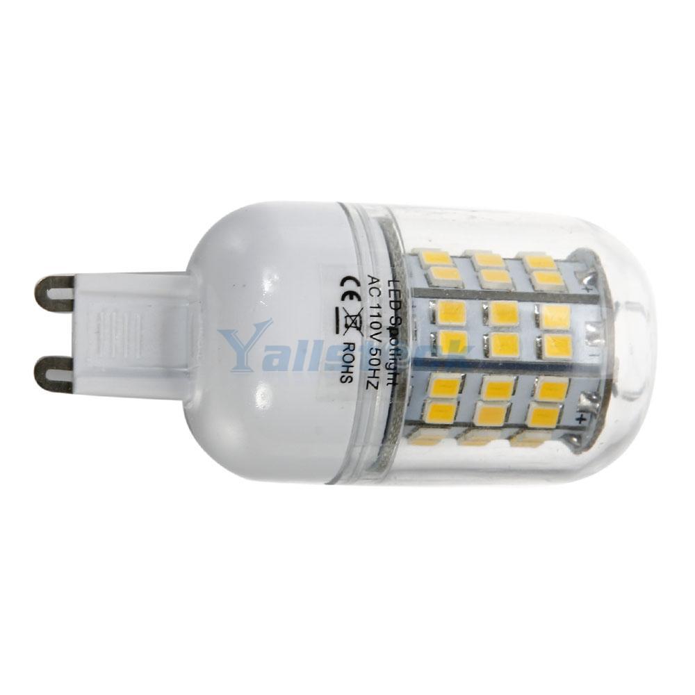 3pcs G9 5w 60led 2835smd 2800 3200k Warm White Light Led