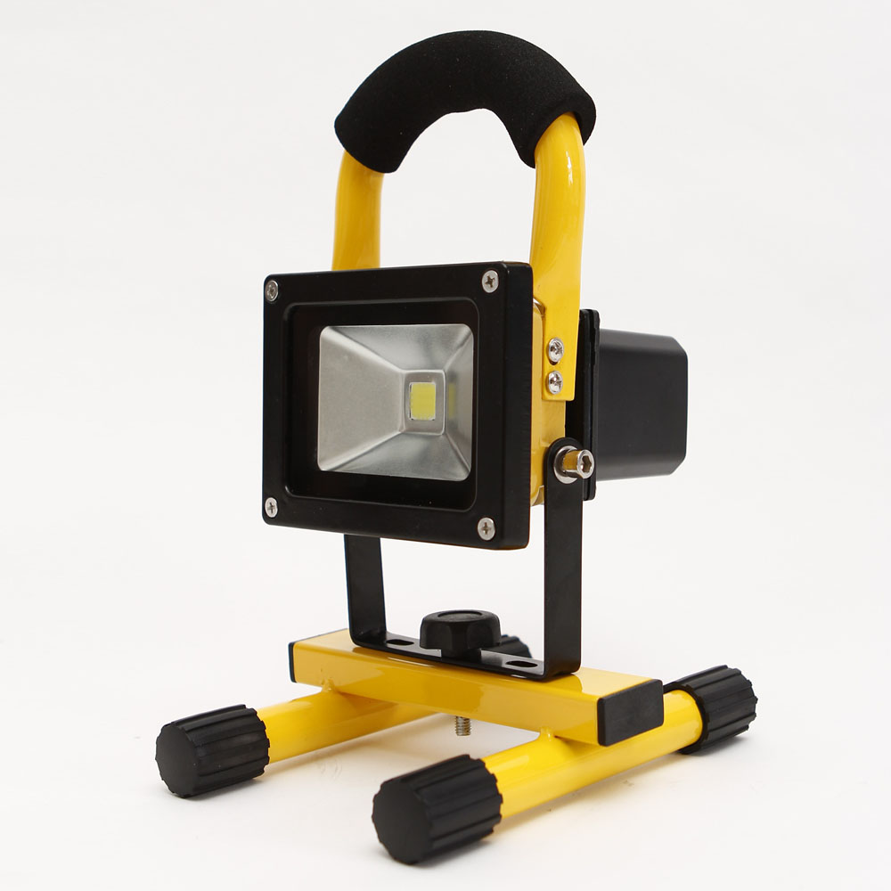 Portable 60 Leds 350lm Rechargeable Cordless Work Light: 10W Portable Cordless Work Spotlight Rechargeable LED