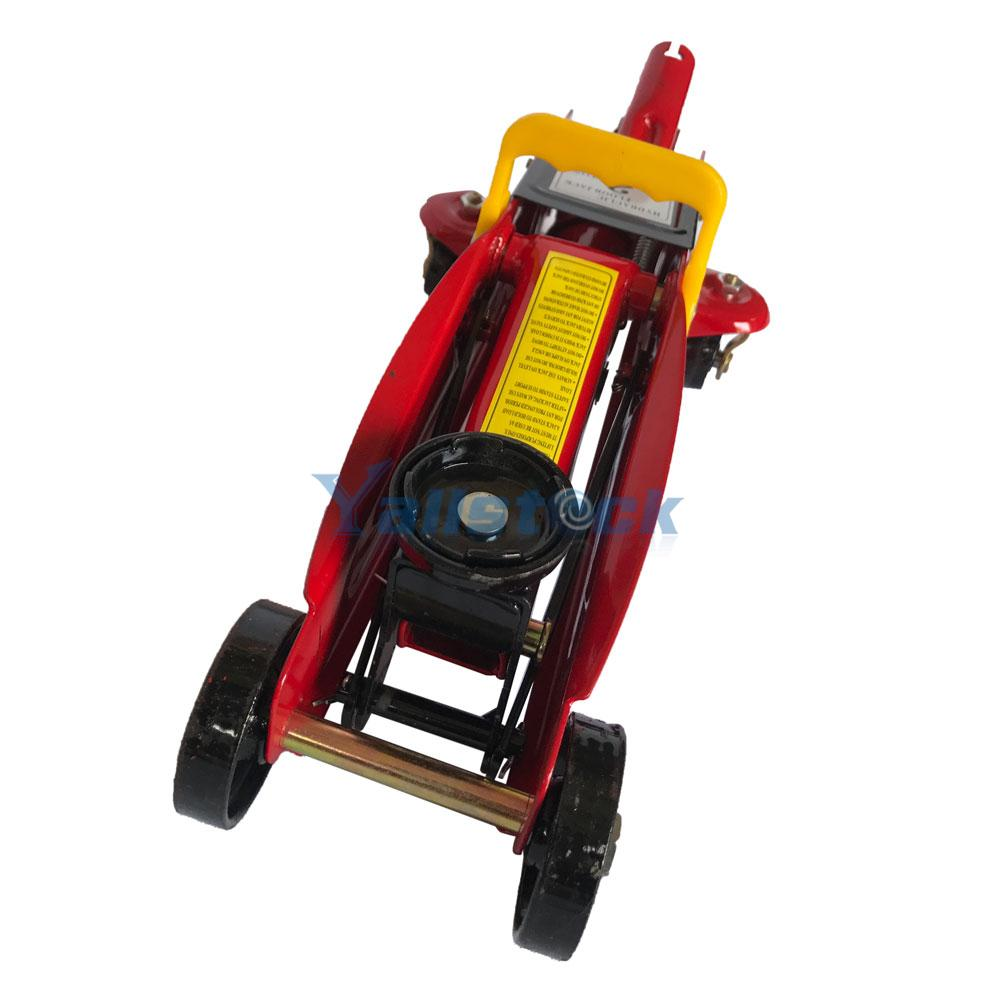 2-Ton Hydraulic Floor Jack Double Plunger Low Profile ...