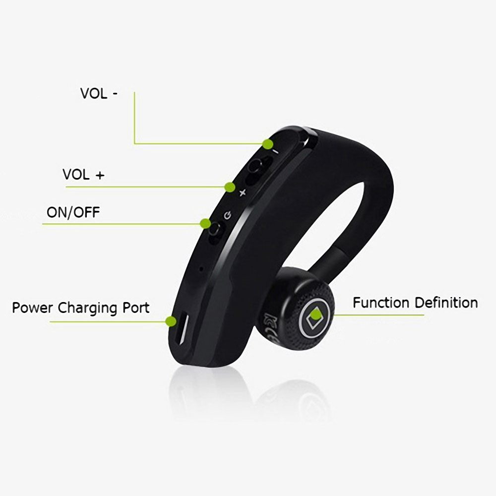 Leegoal V9 Handsfree Wireless Bluetooth Earphones Noise: Mini V9 Wireless Bluetooth 4.0 Headset Earphone Headphone