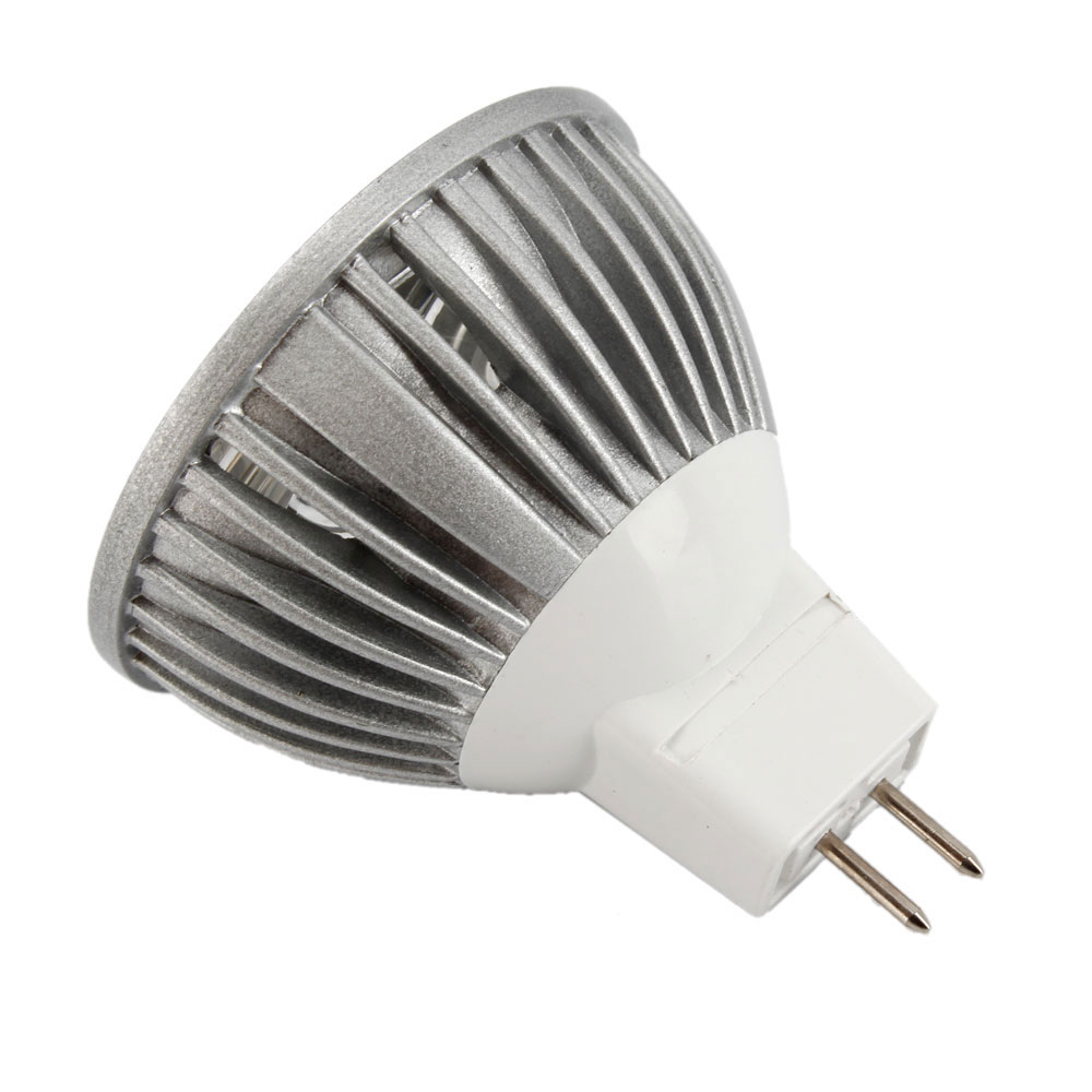 hot mr16 gu5 3 3x 1w 3w 12v warm white light 3500k 3led spot light bulbs lamp ebay