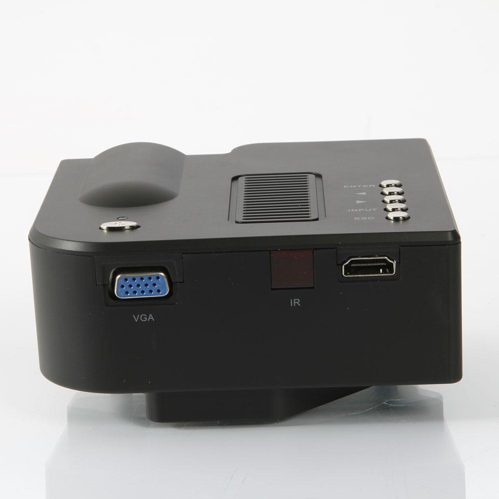 Mini Portable Lcd Multimedia Led Projector Full Hd 1080p: Portable Mini LCD LED HD 1080P Projector Multimedia W AV