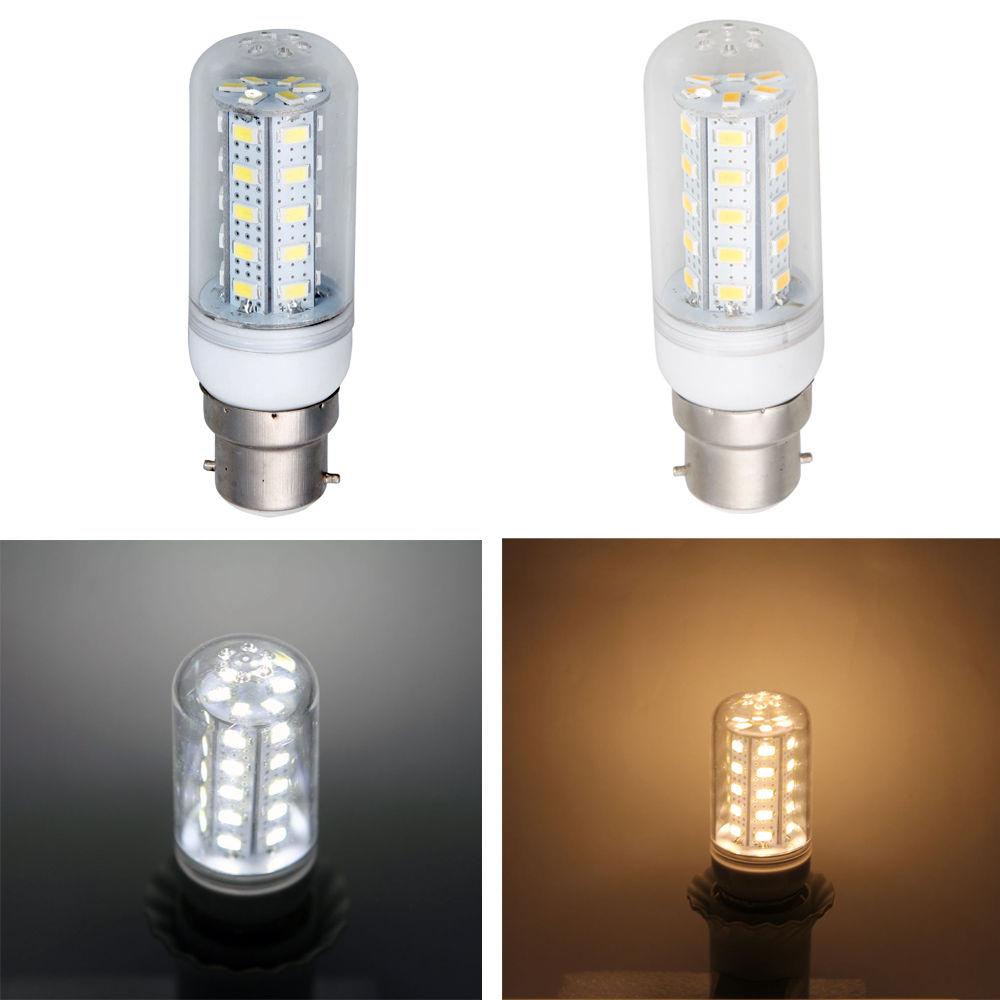 new smd 5730 b22 e27 e14 g9 gu10 36 led corn light bulb lamp w cover 7w 200 240v. Black Bedroom Furniture Sets. Home Design Ideas