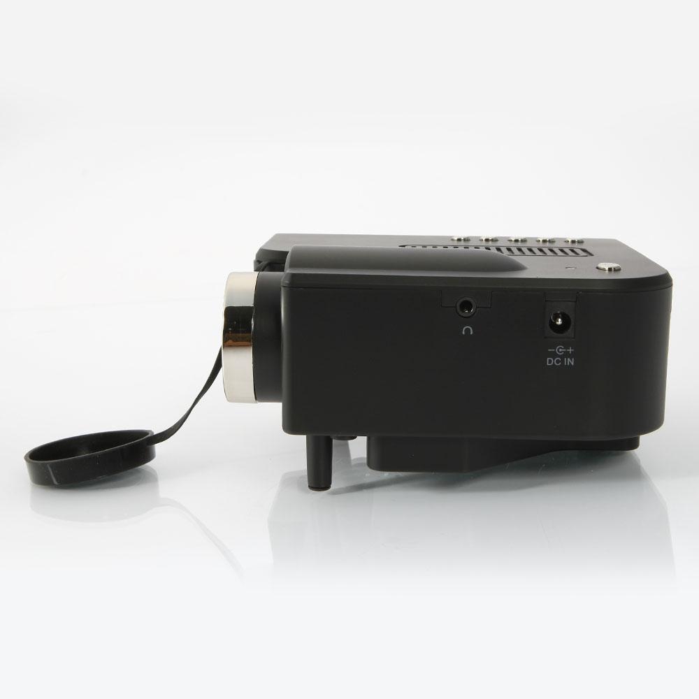 Portable mini lcd led hd 1080p projector multimedia w av for Mini hd pocket projector