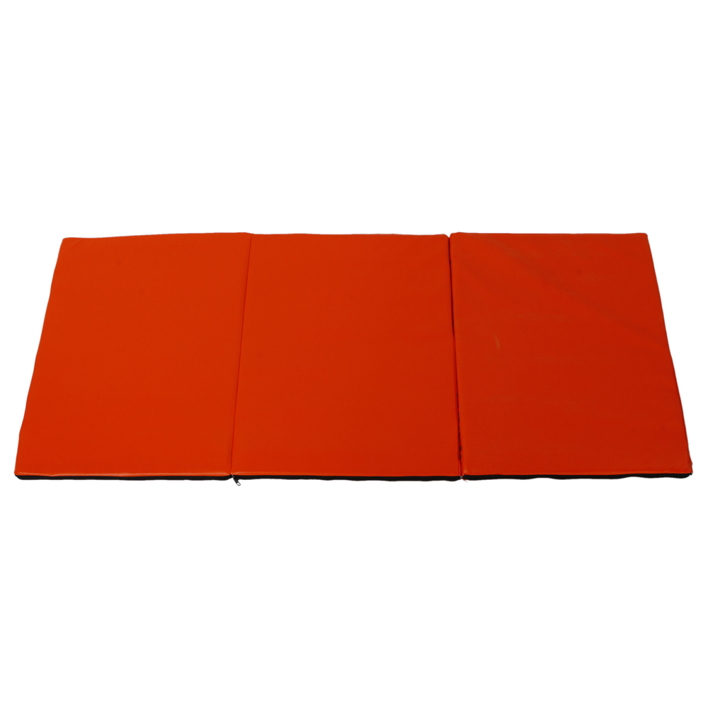 "Folding Gymnastics Gym Exercise Aerobics Mats 55""x24"