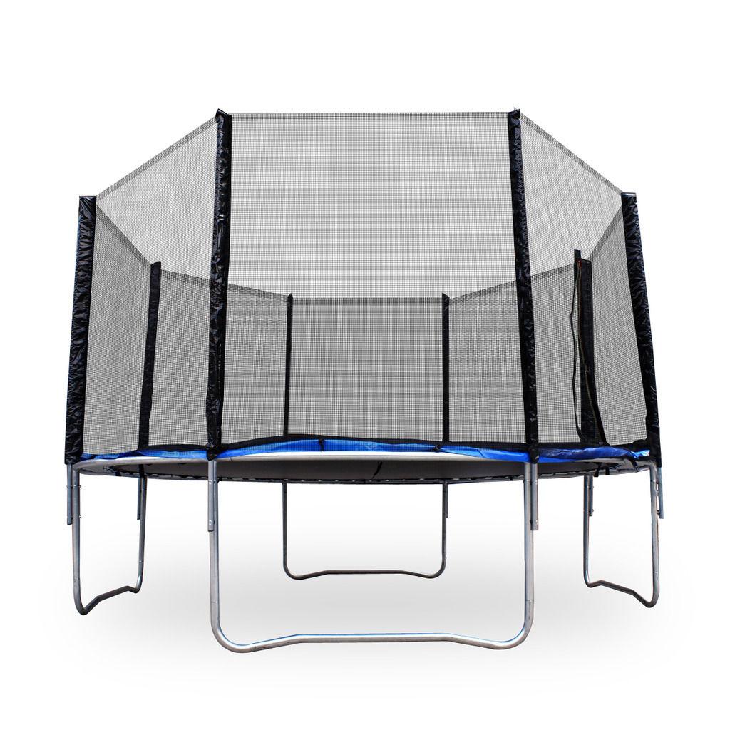 Kids Trampoline Outdoor W/ Safety Net 12 Ft Backyard
