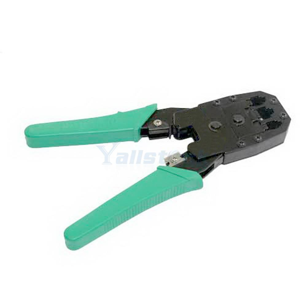 durable rj45 rj11 rj12 cat5 network lan cable crimper pliers tools kit ebay. Black Bedroom Furniture Sets. Home Design Ideas
