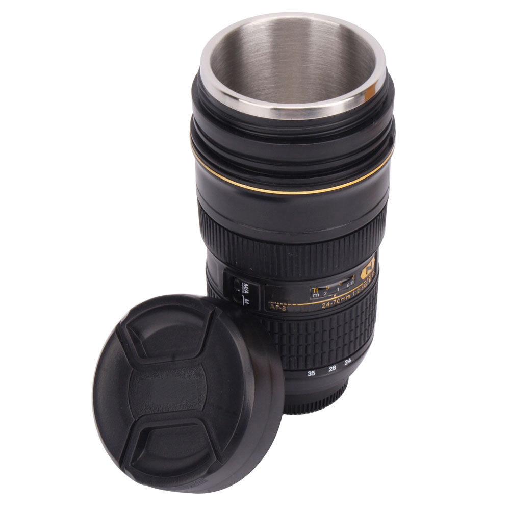 New af s 24 70mm f 2 8g lens 1 1 simulation coffee cup for Photo lens coffee cup