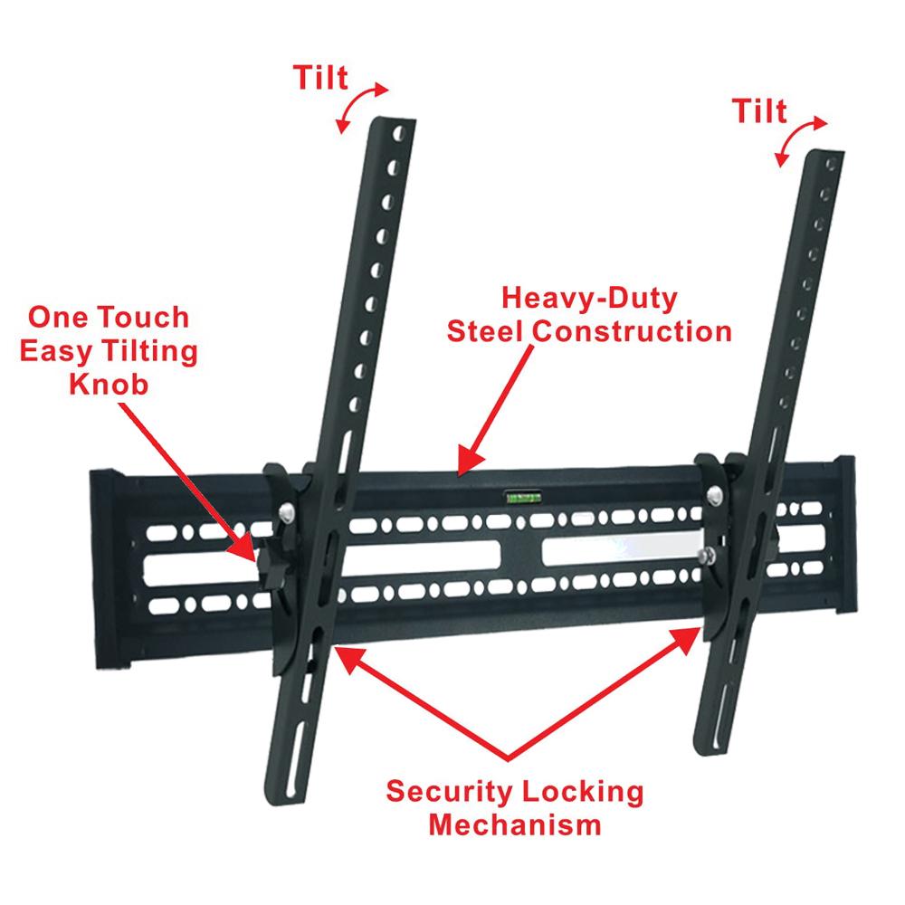 Details about Tilt 15°TV Wall Mount Bracket LED LCD for 32 37 42 46 47 50  55 65 70