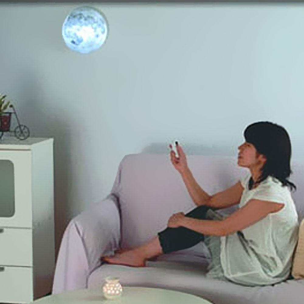 Brand New LED Healing Moon Night Light Wall Lamp Bedroom ...