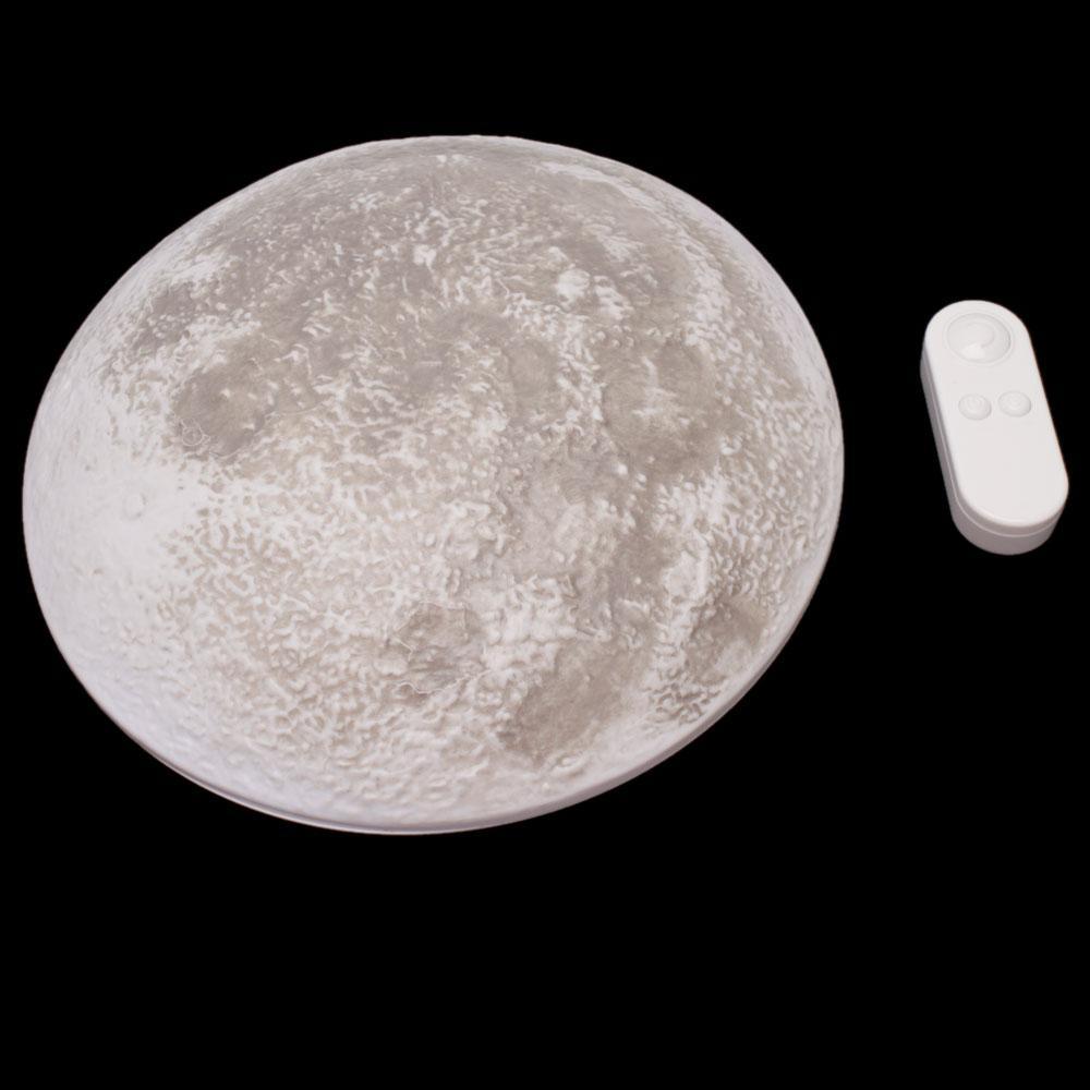 Brand New LED Healing Moon Night Light Wall Lamp Bedroom ...